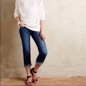 AG The Tomboy Crop Relaxed Straight Jean